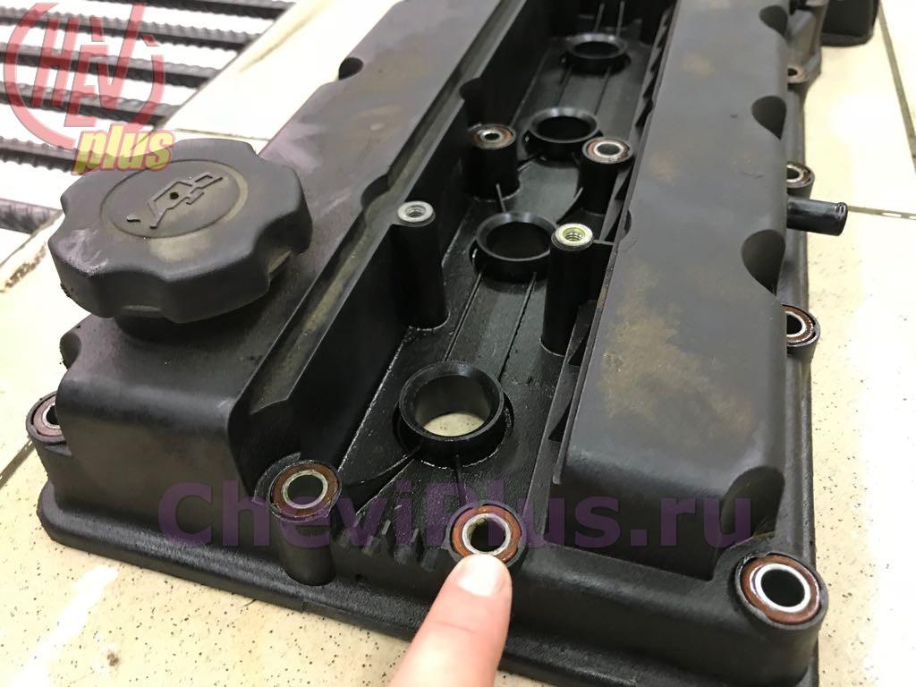Прокладка клапанной крышки шевроле круз